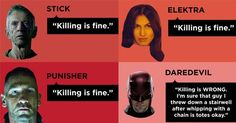 7 Infographics That Perfectly Summarize Daredevil Season 2