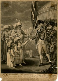 Marquis Cornwallis Receiving the Sons of Tippoo Saib