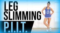 Inner thighs, outer thighs, calves, quads, and butt! We are hitting EVERYTHING lower body today in this leg slimming PIIT workout! It's only 7 moves - 45 sec...