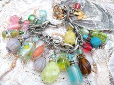 VANITY VIXEN mini bottle charm bracelet perfume by lilyofthevally