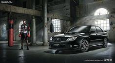 Subaru WRX with bionic boxer