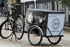 "Brand consultancy Lewis Moberly has designed an identity for food charity Breadwinners – including a simple brand mark and a series of visuals for the charity's delivery fleet of cycles. Breadwinners hope for offer ""a fresh start for unemployed young Londoners"" by giving them the chance to earn a living by delivering bread, pairing each employee with …"