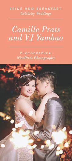 Camille Prats and VJ Yambao's Wedding | Photo: Nice Print Photography