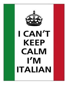 7..Oh my Italian love! You have finally embraced your italian side..you know EXACTLY what I mean, and I LOVE IT! Sigh..❤️