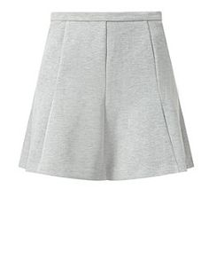 Grey (Grey) Grey Pleated Skirt | 311020304 | New Look