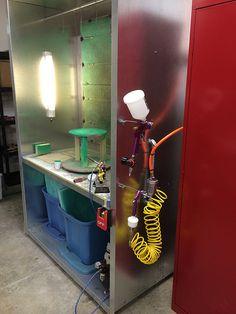 DIY Spray Booth