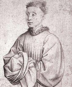 Portrait of a Young Man - Rogier van der Weyden