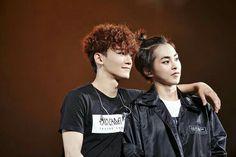 Chen + Xiumin = my biases! Kaisoo, Chanbaek, Baekhyun Chanyeol, Exo Chen, Kpop Exo, Exo K, Otp, Exo Couple, Exo Luxion