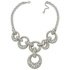 Swarovski Rarely Silvershade Necklace