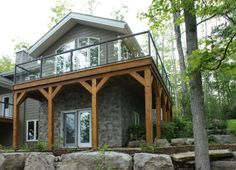 Welcome to StoneRox - - a superior, manufactured stone veneer. Our products are designed for both residential & commercial properties. Stone Veneer Panels, Manufactured Stone Veneer, Stone Gallery, Gazebo, Outdoor Structures, Cabin, Colour, House Styles, Grey