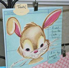 Easter vintage kit mini layout
