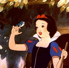 """Snow White, Classic. I always feel like people are thinking """"oh my gosh, she's to kind, ditsy and naive. She's not that great of a princess."""" Then I'm like umm sorry, no, she's only freakin 13 or 14!! You can't be TO kind!"""