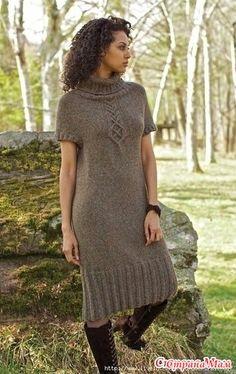 Вот и я связала платье по мотивам Akin от Norah Gaughan :-) - Вязание - Страна Мам