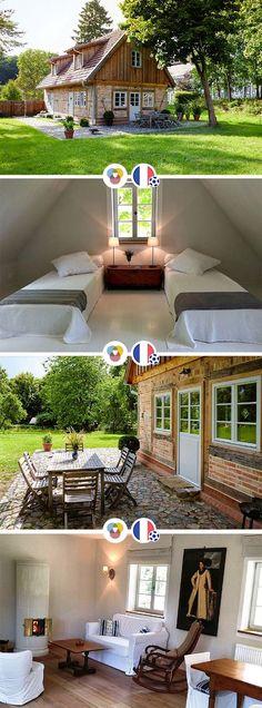 Im Ferienhaus Gutsgärtnerei an der schönen Müritz können bis zu 6 Personen einen traumhaften Urlaub verleben. Das Ferienhaus ist von einem tollen, großen Garten umgeben.