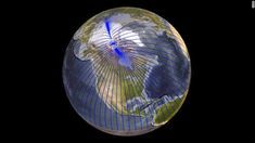 Check Your Compass, Earth's North Magnetic Pole is Quickly Moving Towards Siberia Flat Earth Conspiracy, Outer Core, Siberia, Earth's Magnetic Field, Polo Norte, Parts Of The Earth, Pole Moves, Planetary Science, Earth Surface