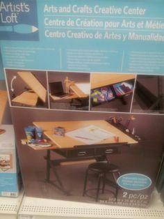 Exceptional Artist Desk @ Michaels