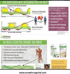 #Nährstoffe zum #Frühstück. Vitamin A, Herbalife, Stress, Fett, About Me Blog, Immune System, Metabolism, Nice Breakfast, Weight Gain