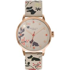 Radley Epping Forest Ladies Watch (RY2930A) Grey   WatchShop.com™ Radley Watches, London Watch, Epping Forest, Dove Grey, Dog Design, Grey Leather, Cool Watches, Lady, Accessories