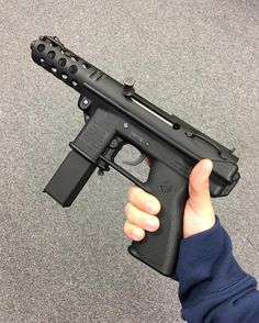 Name this weird looking pistol