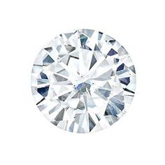 8.0 MM Round Brilliant Cut Forever One® Moissanite by Charles & Colvard 57 Facets – Very Good Cut (1.6ct Actual Weight, 1.90ct Diamond Equivalent Weight). Charles & Colvard Forever OneTM Moissanite is