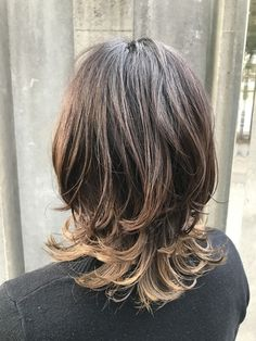 Messy Bob Hairstyles, Wavy Haircuts, Medium Hair Cuts, Medium Hair Styles, Long Hair Styles, Mullet Hairstyle, Shot Hair Styles, Hair Arrange, Aesthetic Hair