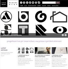 L'importanza della sottrazione - articolo di Luca Negri sul nuovo sito dei lavori di Ilio Negri: ilionergri.it Magazine Design, Architecture Design, Company Logo, Logos, Architecture Layout, Logo, Architecture