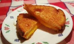 Air Fryer Simple Grilled American Cheese Sandwich - This Old Gal
