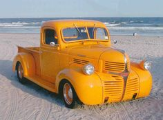More vintage cars, hot rods, and kustoms Hot Rod Trucks, New Trucks, Custom Trucks, Cool Trucks, Custom Cars, Classic Chevy Trucks, Classic Cars, Dodge Pickup Trucks, Dodge Dually