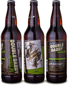 Speakeasy Ales & Lagers Double Daddy IPA 22oz. - designed by Emrich Office