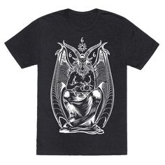 Pet Cats. Hail Satan. - Cats  are awesome. they just don't give a fuck. This is simple. Everytime you pet a cat you are worshipping satan. So worship the beast and realize satan is happy with how your progressing every time you pet a kitty cat. So meow up with this great shirt featuring baphomet petting a cute kitty cat.
