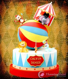 Circus Cake for Calvin - Cake by HummingBread