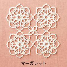 繊細モチーフにうっとり タティングレースの白いお花畑の会 | フェリシモ