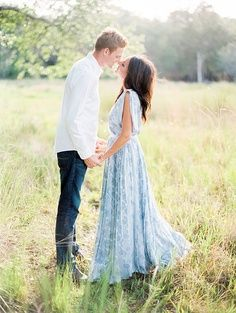 Dress for engagement photos