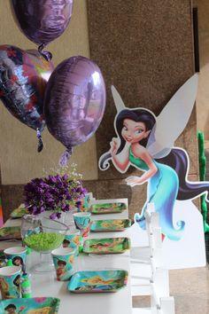 Mesa infantil- Festa Tinkerbell  Kids table - Tinkerbell's party