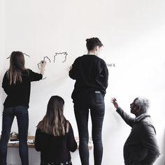 #teamwork #team work #mural #map illustration #creative agency What Is Christmas, Different Media, Teamwork, Murals, Map, Website, Celebrities, Creative, Illustration