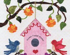 Baltimore Spring Quilt Pattern Pearl Pereira P3 by MomTheQuilter