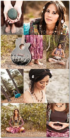 Hippie theme (would nix the meditation) but I love the reflection on the guitar