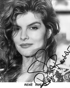 Rene Marie Russo(born February 17, 1954)[1][2]is an American actress, producer and former model.  Russo began her career in the 1970s as a popular fashion model, appearing several times on the covers of magazines likeVogueandCosmopolitan. In the late 1980s, she transitioned to an acting career. She became known for starring in a series of popular, big budget thrillers and action movies throughout the 1990s.