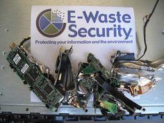 Hard drive shredding project for Apple in Santa Monica, CA