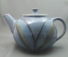 pottery teapot  Ellen Burge Clay Impressions