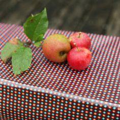Coton enduit Billy prune