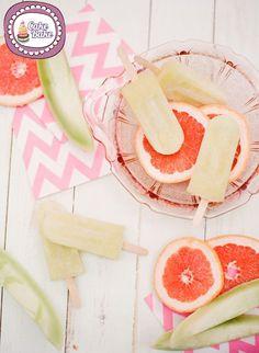 Gelati sullo stecco  – Ice Pop al pompelmo rosa