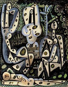 Pablo Picasso - Four Nudes - 1955