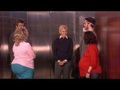 if im ever stuck on an elevator, ellen better be too!