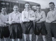 Spurs with sky blue shirt and navy blue shorts, 1931. Thanks to www.historicalkits.co.uk