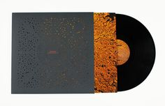 Leif Podhajsky's record sleeve for Bonobo LP Flashlight features an intricate laser cut design..