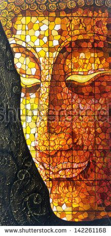 buddha stained glass pattern - Bing Images