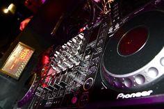 La console du DJ.
