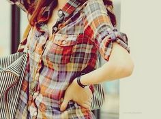 plaid for fall!! actually like this plaid!!! (a lot of plaid is so ugly! lol)