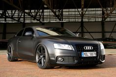 Black Matte Audi A5 Coupe
